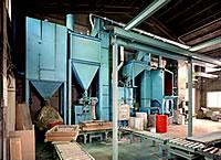 自硬性造型設備 アルミ鋳造 切削加工 愛知県