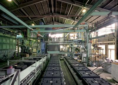 FBM−4TZライン一式 アルミ鋳造 切削加工 愛知県
