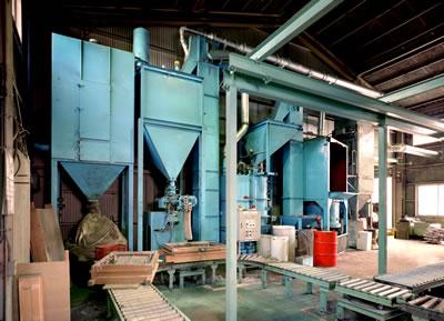 自硬性再生機 アルミ鋳造 切削加工 愛知県