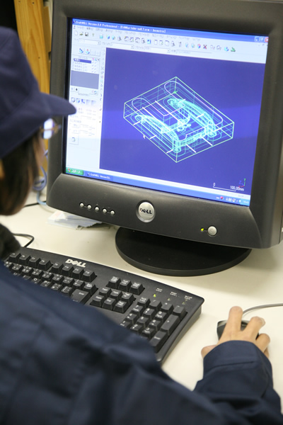 3D・CAD アルミ鋳造 切削加工 愛知県